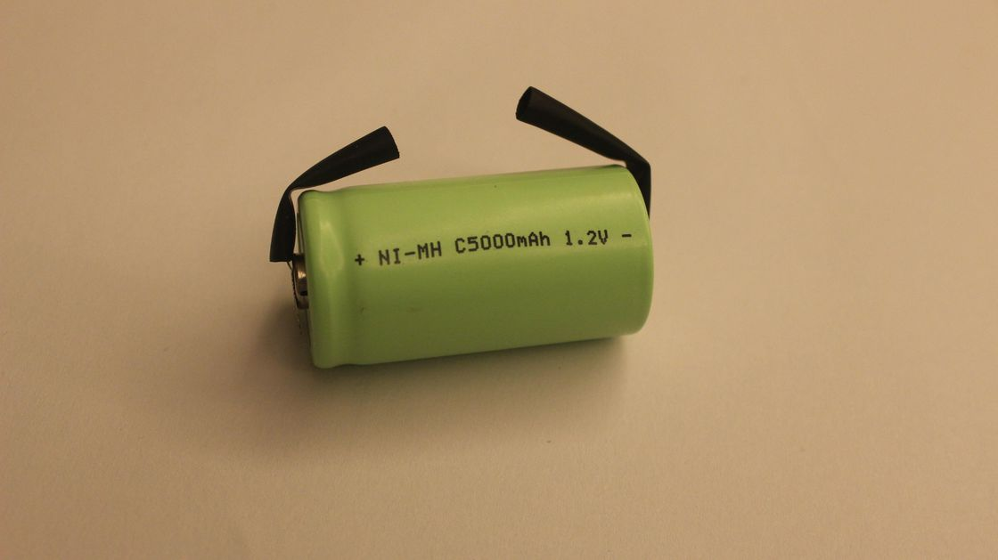 1.2V Industrial NIMH AA Rechargeable Batteries , 5000mah Lipo Battery CE ROHS