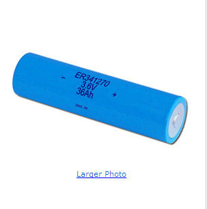 Primary AA 2400MAH Li-Socl2 Battery 3.6V For Intelligent Water Meter