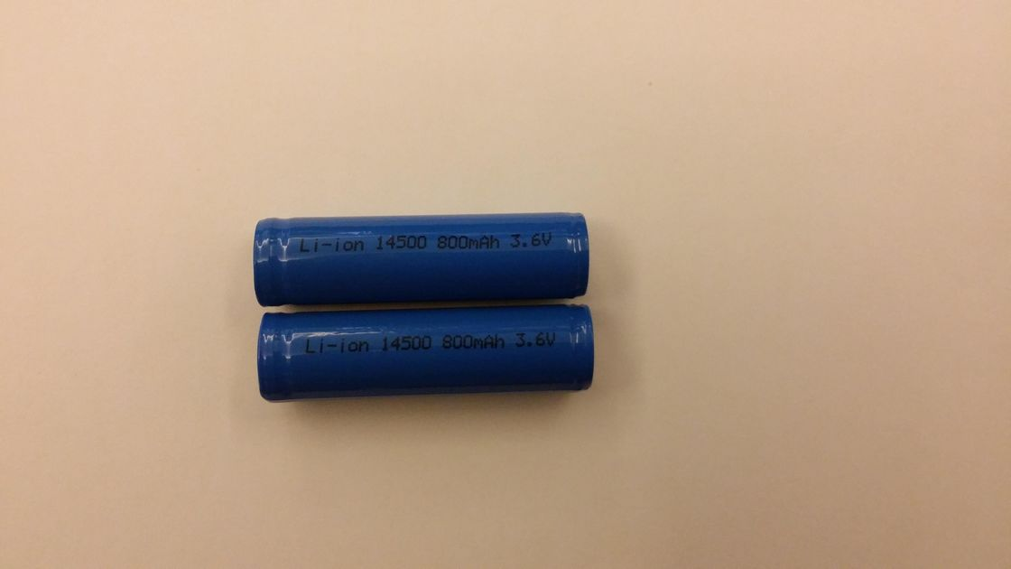 Lighting 800mAh 3.7V Lithium Ion Rechargeable Batteries Eco-friendly